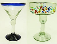 Margarita and Martini Glasses
